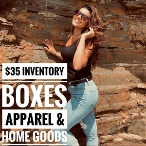 $35 INVENTORY BOXES